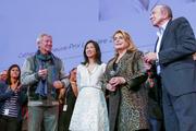 Catherine Deneuve avec Régis Wargnier, Linh-Dan Pham et Gérard Collomb