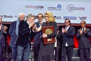Bertrand Tavernier, Lambert Wilson, Catherine Deneuve, Quentin Tarantino et Vincent Lindon