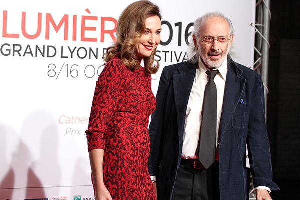 Elsa Zylberstein et Jerry Schatzberg