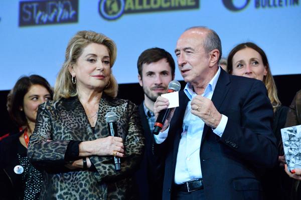 Catherine Deneuve et Gérard Collomb