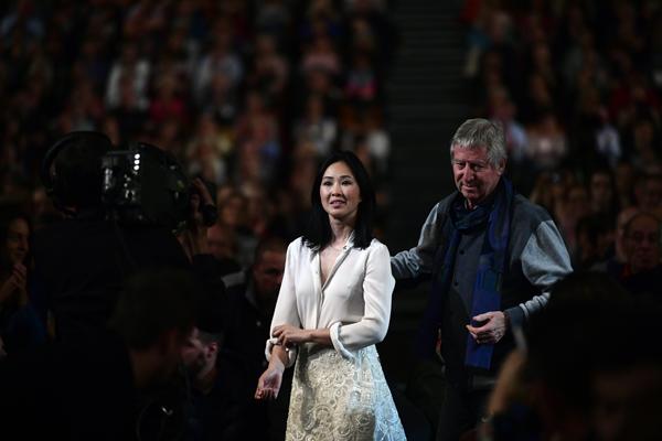 Linh-Dan Pham et Régis Wargnier
