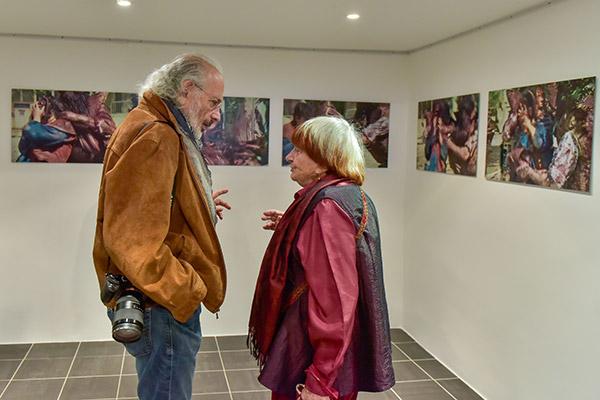Jerry Schatzberg et Agnès Varda