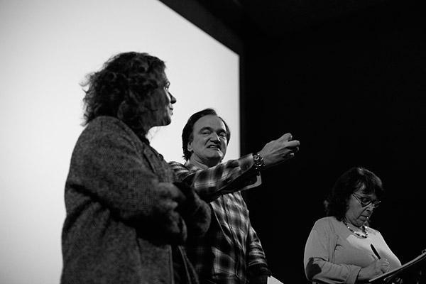 Delphine Gleize et Quentin Tarantino - Comoedia
