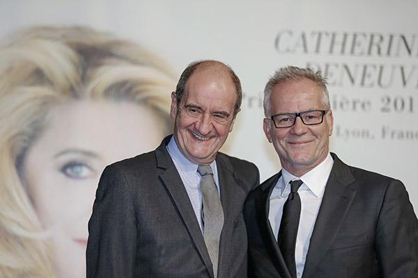 Pierre Lescure et Thierry Frémaux