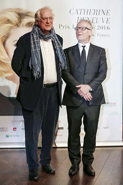 Bertrand Tavernier et Thierry Frémaux