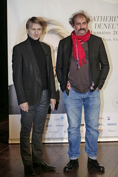 Stanislas Merhar et Gustave Kervern