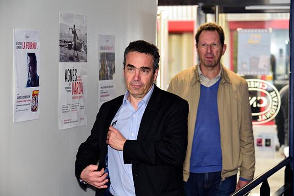 Serge Bromberg et Samuel Blumenfeld - Cinéma La Fourmi